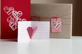 create a card how to make 3 different s day cards with geo hearts
