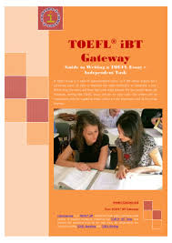 sample toefl essays guide to writing a toefl essay independent task