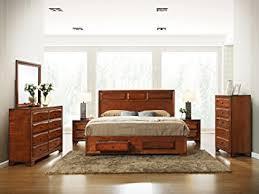 Antique Finish Bedroom Furniture Roundhill Furniture Oakland 139 Antique Oak Finish