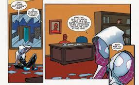 Spiderman Table Meme - spider gwen meeting 60s spider man web warriors imgur