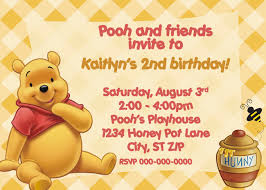winnie the pooh invitation free printable invitation design