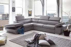 canap cuir design canapé d angle design en pu gris clair marocco canapé d angle cuir
