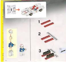lego speed racer snake oiler instructions 8158 racers
