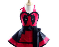 Deadpool Halloween Costume Kid Deadpool Dress Etsy