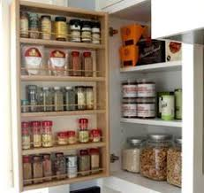 under cabinet magnetic jar rack idea diy kitchen organization