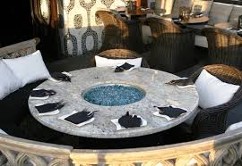 Glass For Firepit Pit Dining Tables Popular Glass Table Pinterest For 9