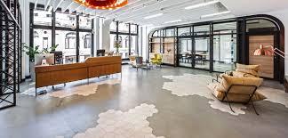 best office industrial design hexagonal tiles rewind ragno