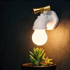 night light sound creative led tap lights sound control faucet lintelligent night