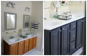 Oak Bathroom Cabinets by Bathroom Paint Colors With Oak Cabinets Nrtradiant Com