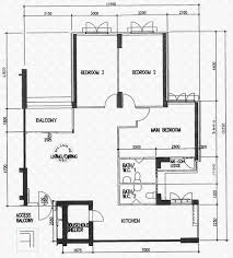 Schematic Floor Plan by Floor Plans For Jurong West Street 25 Hdb Details Srx Property