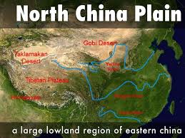 North China Plain Map by Ch 5 Social Studies By Mharper