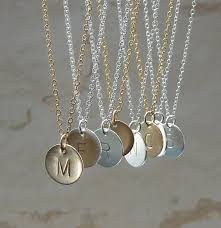personalized initial necklaces initial necklace 45 00 via etsy diamonds are a girl s best