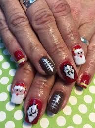 550 best christmas nail art images on pinterest christmas nail