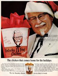 kfc thanksgiving menu kentucky fried chicken for christmas rush 1965 u0026 1968 click