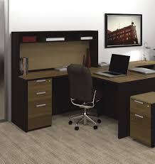 L Shaped Computer Desk Black by Furniture Dashing L Shaped Computer Desk With Hutch Designs Ideas