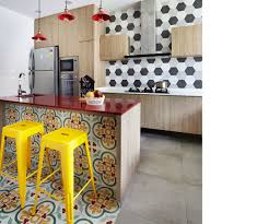 Wallpaper Designs For Kitchens Extraordinary Feature Wall And Flooring Ideas That Will Transform