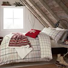 barton check brushed cotton duvet covers at bedeck 1951