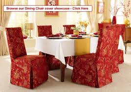 red dining room chair covers 1123