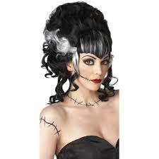 halloween costumes wigs monster u0027s mistress wig bride of frankenstein wig