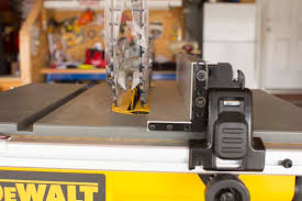 dewalt table saw rip fence extension help with dewalt table saw fence configuration woodworking