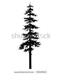 tribal tree silhouette template isolated stock photo photo