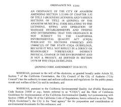 Council On Environmental Quality Guidelines Business Regulations Anaheim Ca Official Website