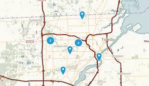 toledo ohio map best trails near toledo ohio alltrails com