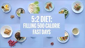5 2 diet meal plans what to eat for 500 calorie fast days