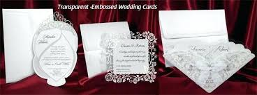 asian wedding invitations wedding invitations asian transparent embossed wedding cards