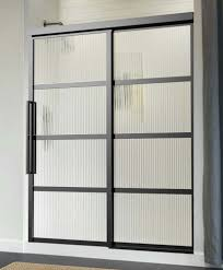 Sliding Shower Screen Doors Gridscape Series Coastal Shower Doors