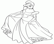 cinderella coloring pages free printable