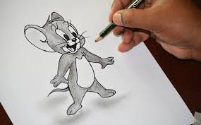 jerry cartoon character drawing learn to draw cartoon characters