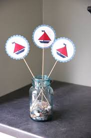 Centerpiece For Baby Shower by 33 Unique Nautical Baby Shower Ideas