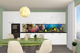 mural for a kitchen seabed aquarium photo mural for a kitchen seabed aquarium