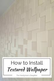 Textured Wallpaper Ceiling by Textured Wallpaper Accent Wall Master Bedroom Update The