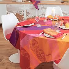 nappe en coton enduit nappes de table coton linge de table haut de gamme garnier
