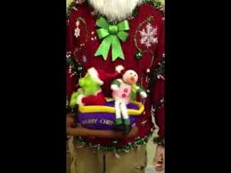 singing animated grinch ugly christmas sweater light up for sale