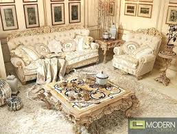 Italian Furniture Living Room Italian Furniture Set B Classic Furniture Gold Leaf Sofa Set