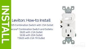 leviton presents how to install a light switch inside wiring a