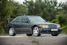 mercedes benz 190e evo ii set to make 220 000 at auction