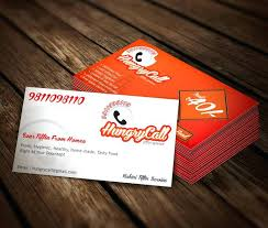fascinating food service business cards free card templates