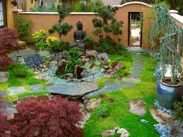 beautiful backyard zen garden architecture nice