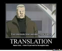 Meme Translation - translation by deathzagamon meme center