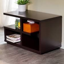 Modern Furniture End Tables by Furniture Of America Euclidor Modern Walnut End Table Free