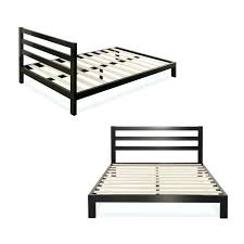 metal bed frame with center support extraordinary modern queen