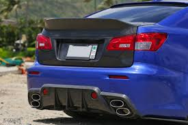 isf lexus blue og designs duckbill trunk lexus is 250 350 isf u2013 outcast garage