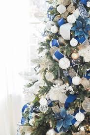 Blue Christmas Trees Decorating Ideas - a blue christmas ideas and inspiration tidbits