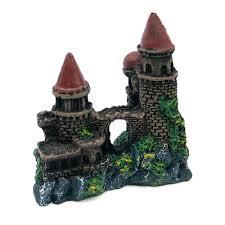 aliexpress com buy beautiful small resin medieval castle bridge