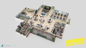 these extremely detailed 3d models of favorite tv shows are works