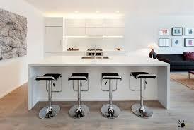 big kitchen island stylish dining stools at a big kitchen island along with modern
